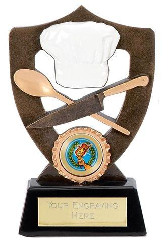 Celebration Shield Trophy Award Chef