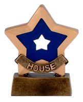 Mini Star Blue House