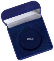 Medal Case Blue Velvet