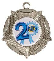 Rose50 Medal Silver 50mm