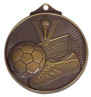 Horizon52 Soccer Medal Bronze 52mm