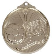 Horizon52 Soccer Medal Silver 52mm