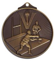 Horizon52 Rugby Medal Bronze 52mm