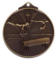 Horizon52 Gymnastics Medal Bronze 52mm