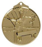 Horizon52 Gymnastics Medal Gold 52mm