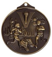 Horizon52 Cross Country Medal Bronze 52mm
