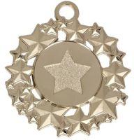 Galaxy50 Medal Silver 50mm