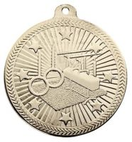 Vf50 Gymnastics Medal Silver 50mm