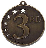 San Francisco50 3rd Medal Bronze 52mm