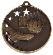 San Francisco50 Football Medal Bronze 52mm