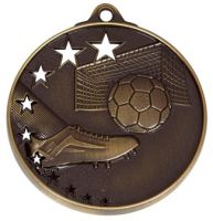 San Francisco50 Football Medal Bronze 52mm