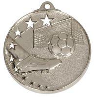 San Francisco50 Football Medal Silver 52mm