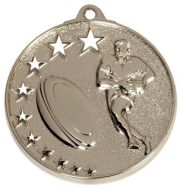 San Francisco50 Rugby Medal Silver 52mm