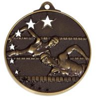 San Francisco50 Swimming Medal Bronze 52mm