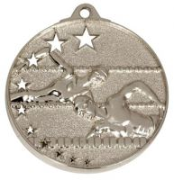 San Francisco50 Swimming Medal Silver 52mm