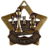 Mini Star Chess Medal