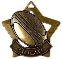 Mini Star Rugby Medal