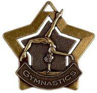 Mini Star Gymnastics Medal Bronze 60mm