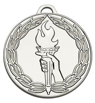 Classictorch50 Medal Silver 50mm
