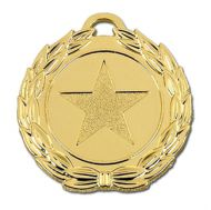 Megastar40 Medal Gold 40mm