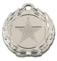 Megastar40 Medal Silver 40mm