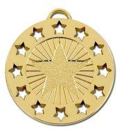 Constellation40 Medal Gold 40mm