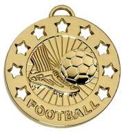 Spectrum40 Football Medal Gold 40mm