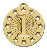 Spectrum40 1st Medal Gold 40mm