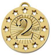 Spectrum40 2nd Medal Gold 40mm