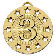 Spectrum40 3rd Medal Gold 40mm