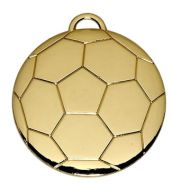 Football40 Medal Gold 40mm