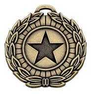 Megastar50 Medal Bronze 50mm