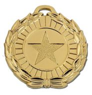 Megastar50 Medal Gold 50mm