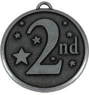 Elation Star50 2nd Medal Silver 50mm