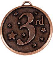 Elation Star50 3rd Medal Bronze 50mm