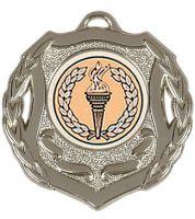 Shield Trophy Award50 Medal Silver 50mm