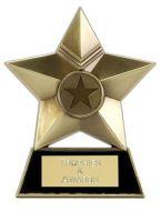 Star Plaque Metal (New 2010)