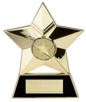 Star Plaque Gold