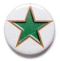 Green Star Button Badge