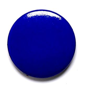 Blue Button Badge