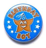 Birthday Boy Button Badge