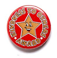 Kindness To Others Button Badge