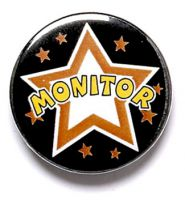 Monitor Button Badge