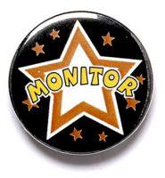 Monitor Button Badge
