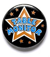 Table Monitor Button Badge