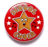 School Choir Button Badge