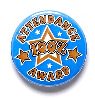 Attendance Button Badge