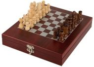 Rosewood Finish Chess Set New 2013