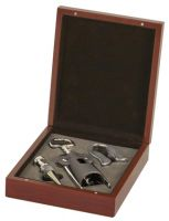 Rosewood -Piece Wine Tool Set New 2013