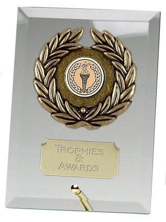 Crest Jade Plaque